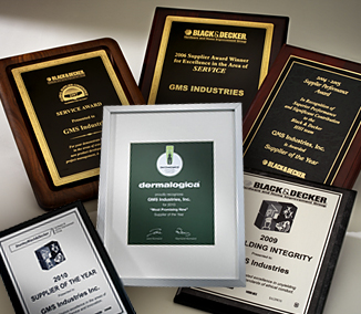 GMS Industries, Inc. Awards